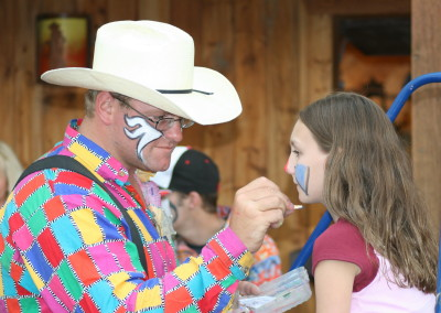 Rodeo Clown Faces http://codytransportation.com/